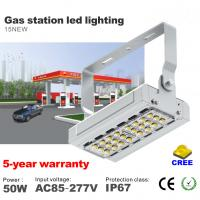 Best 50W LED Tunnel light AC85-277V CREE SMD Chip Gas Station LED Lighting IP67 Waterproof wholesale
