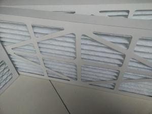 Best Medium Efficiency Aluminum Frame Plate And Frame Filtration Galvanized Folding Air Filter wholesale
