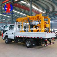 China XYC-200 truck-mounted drilling machine is a multi-functional hydraulic truck-mounted rotary drilling machine with vertic on sale