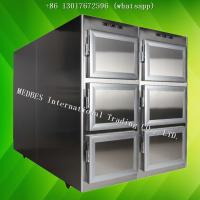 Best Hospital Stainless Steel Mortuary Freezer Corpse Refrigerator Corpse Freezer with Six Body Chamber wholesale