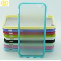 Best Lightweight TPU Mobile Phone Protective Cases Colorful Frame For Iphone 6 wholesale