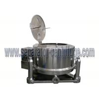 Best Alcohol Washing and Drying Pharmaceutical Centrifuge for Cannabis Extraction wholesale