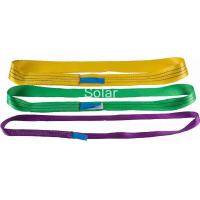 China A-A Grade Polyester Endless Round Webbing Sling With Low Elongation on sale