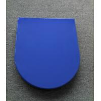 China blue toilet seat cover two piece toilet seats manufacturer on sale