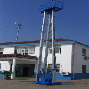 Best Three Mast Warehouse Order Picking Equipment Climbing Work Platform 21m wholesale