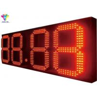 China Outdoor Waterproof May Advertising Gas Price Signs Different Color Available on sale