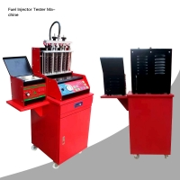 Best Red 0.6Mpa Car Ultrasonic Injection Cleaning Equipment 100W CIS wholesale