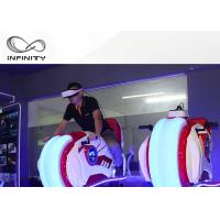 Best Infinity VR Motorcycle Motion Ride 9D VR Simulator Game Machine Electric Cylinder Motion wholesale