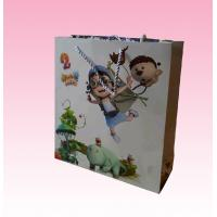 Best custom promotional recyclable full color paper bag distributors with all kinds size wholesale