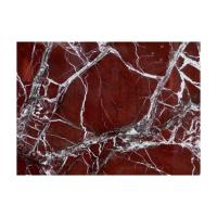 Buy cheap Purple Red Rosso Levanto Marble Stone Slab With White Veins Stone Natural from wholesalers