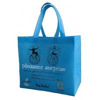 Best Promotion Factory Custom Logo Reusable Foldable Non-Laminated  Non Woven Fabric Tote Shopping Bag wholesale