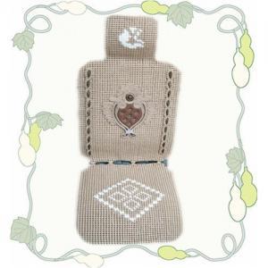 China Handmade vicat car cushion, linen seat cushion, ice silk seat cushion, wool car cushion on sale
