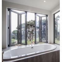 Buy cheap Residential Aluminum Folding Windows With Black Or Customized Color sliding from wholesalers