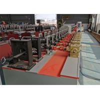 China Polyurethane Foam Filled Rolling Shutter Roll Forming Machine For Making Door on sale
