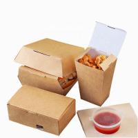 China Biodegradable Clamshell Containers , Environment Friendly Packaging For Food on sale
