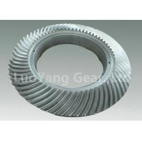 China High Performance Alloy Steel CNC Spiral Bevel Gears , Helical Spur Gear on sale
