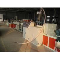 Best PVC Twin Screw Extruder , 16mm - 800mm Pipe Extruder Machine wholesale