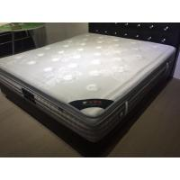 Best Popular Natural Latex Euro Top Mattress Topper Removable for Home / Hotel wholesale