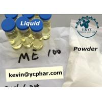 Safety Injectable Anabolic Steroids CAS 303-42-4 Methenolone Enanthate 100mg / Ml