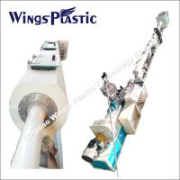 Best PVC Water Pipe Extruder Machine with Conical Twin Screw Extruder wholesale