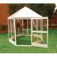 Best anodized aluminum greenhouse with one lockable door wholesale