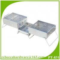 China Stainless Steel Portable Mini Charcoal BBQ Grills on sale