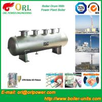 Cheap Single Drum Type Boiler High Corrosion LPG Steam Boiler Unit , Mud Drum for sale