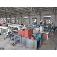 China Fiber Reinforced Soft PVC Pipe Extrusion Machine 80-450kgs / h on sale
