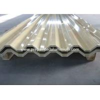 Best 2500 mm Width Aluminium Colour Coated Sheet , High Strength Colored Aluminum Sheets wholesale