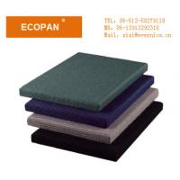 Best Dismountable Fabric Wrapped Wall Panels , Fiber Glass Wool Insulation For Houses wholesale