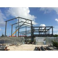 Best H beam Q235B Steel Building Steel Frame Fabrication For Gymnasium wholesale