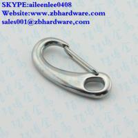 Buy cheap manufacturing stainless steel 304/316 egg shape snap hook / mini snap hook from wholesalers