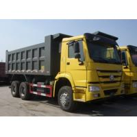 Best Sinotruk HOWO 6x4 Dump Truck Trailer 18M3 Square Shape / U Shape Tipper Body wholesale