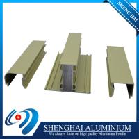 China Made in China Factory Price Anodized Color Aluminium Frame Profiles  for Ghana, Best Seller on sale