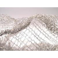 Cheap Noise Reduction Knitted Stainless Steel Filter Mesh Crochet Weaving For Gas / Liquid for sale