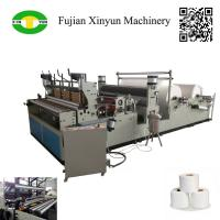 Best Full automatic punching small toilet roll paper making machine wholesale