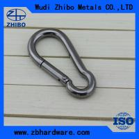 Best with no screw,stainless steel AISI304 or 316 DIN5299 stainless steel snap hook ,Caribine hook for sale Chinas wholesale