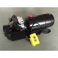 Buy cheap DC 12V 1.6KW  Work Pressure 18Mpa with Round Steel Tank Mini Hydraulic Power Packs for Fork-lifts product