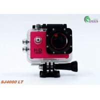 Muti Color Waterproof 1080P HD Action Camera SJ4000 30M Mini For Extreme Sport