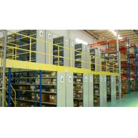 Buy cheap Steel Industrial Mezzanine Floor Systems Easy Install / Dismantle Large Load product