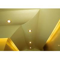 Best Hollow Pattern Custom Ceilings  Roof Decorated With Singular Structures wholesale