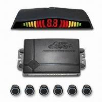 China Parking Sensor with 6 Sensors for Front and Rear Complete Protection, LED Display, Foot Brake Starts on sale