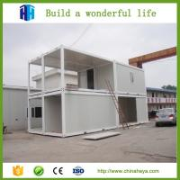 China 20FT/40FT Expandable Cabin Flat Pack Container House Prefabricated Home for sale on sale