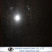 Best Polished Black Galaxy Granite Tiles& Slab, China Black Granite Tiles wholesale