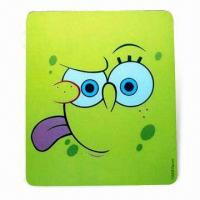 Best Mouse Pad in Various Colors, Designs with Silkscreen Printing, Made of EVA and PVC wholesale