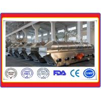 China ZLG Series Vibration Fluid Bed Dryer High Efficiency Explosion Resistance on sale