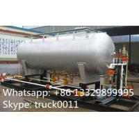 China best price20ton Skid Filling Plant With LPG Storage Tank for Camp Cylinder,Kitchen Cylinder,Industrail Cylinder for sale on sale