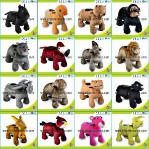 Best Animal Rides 200kg Plush Toys Play By Play Plush Motorized Animals wholesale