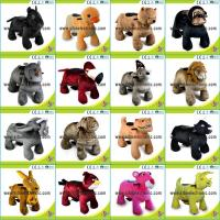 Best Battery Operated Toys Walking Scooter Animals Animated Plush Animals wholesale
