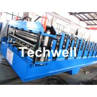 China Double Layer Roll Forming Machine For Roofing Sheet Forming Machine With Hydraulic Cutting on sale